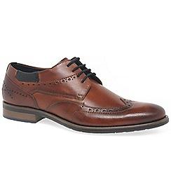 Bugatti - Brown leather 'Hale' smart lace up shoes