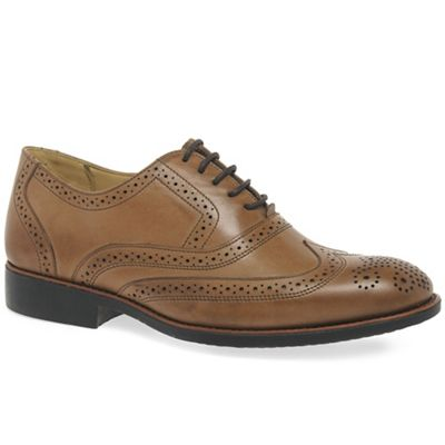 Anatomic & Co - Brown leather 'New Charles II' mens brogues
