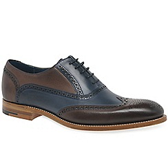 Barker - Multi Coloured leather 'Valiant' wingtip brogues