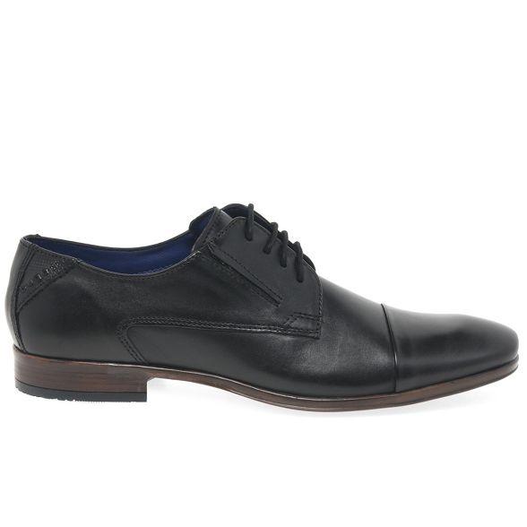 Black 'Jay' shoes Bugatti up leather smart lace pdxCW0WZwq