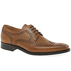 Barker - Brown leather 'Larry' Derby Brogues