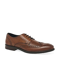 Josef Seibel - Brown leather 'Jonathan' mens smart lace up shoes
