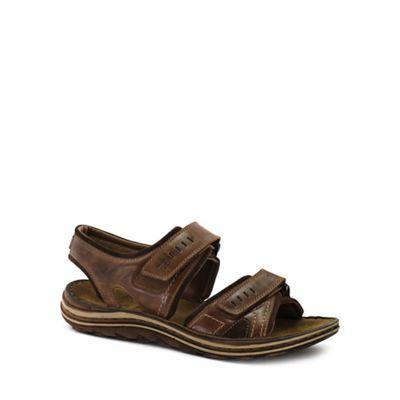 Josef Seibel - Brown 'Raul 19' mens casual sandals