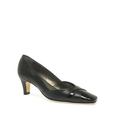 Van Dal - Black patent 'Jolie' Court Shoes