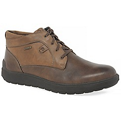 Josef Seibel - Brown leather 'Rudi' waterproof ankle boots