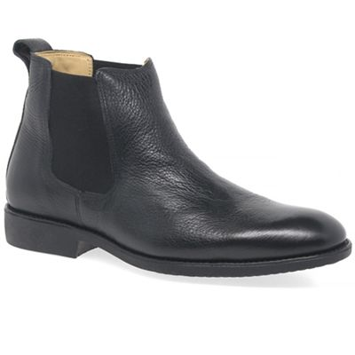 Anatomic & Co - Black leather 'Peter' mens chelsea boots