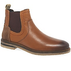 Josef Seibel - Brown leather 'Stanley 03' mens Chelsea boots