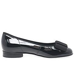 Gabor - Navy Assist Ballerina Shoes