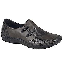 Rieker - Dark grey 'Cassie' Womens Casual Shoes