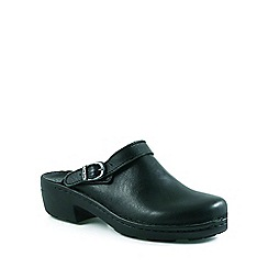 Josef Seibel - Black 'Betsy' leather mules