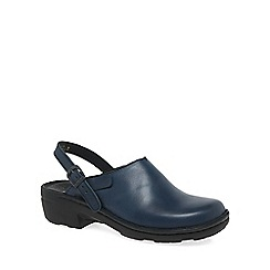 Josef Seibel - Navy 'Betsy' leather mules