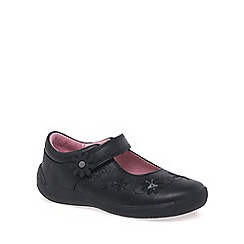 Start-rite - Black leather 'Supersoft Honey Bee' girls shoes