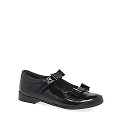 Start-rite - Black patent leather 'Pussycat Bow' Mary Jane school shoes
