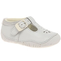 Startrite - Girls' white leather 'Baby Bubble' Prewalkers