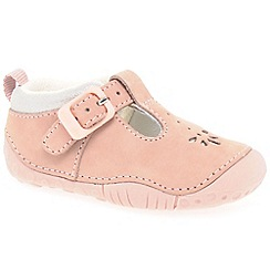Startrite - Girls' pink leather 'Baby Bubble' Prewalkers