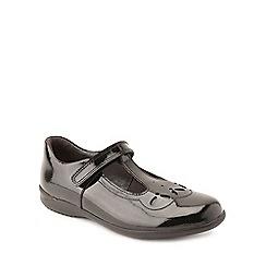 Start-rite - Black patent leather 'Poppy' infant girls school shoes