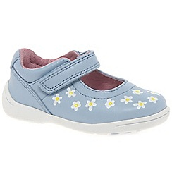 Startrite - Girls' blue leather 'Shine' first Mary Jane shoes