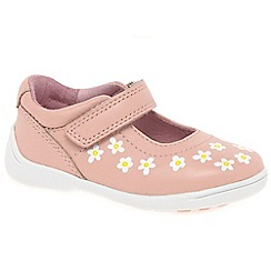 Startrite - Girls' pink leather 'Shine' first Mary Jane shoes