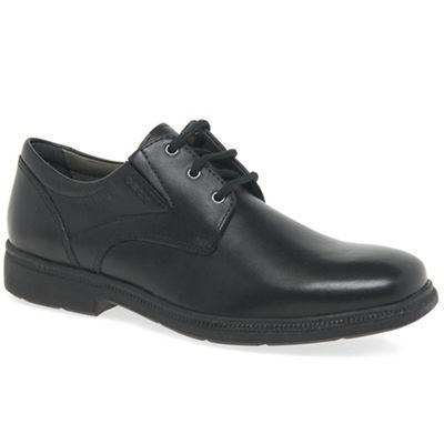 geox - cuir cuir cuir chaussures « federico » de l'école de garçons 8531cb
