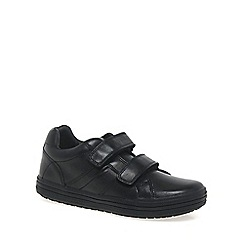 Geox - Black leather 'Elvis' boys school shoes