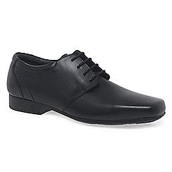 Start-rite - Black leather 'Theo' senior school shoes