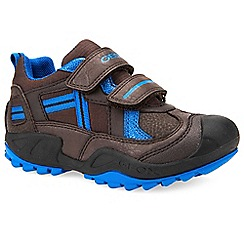 Geox - Brown 'Junior New Savage' boys trainers