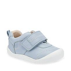 Startrite - Boys' light blue leather 'First Zak' shoes