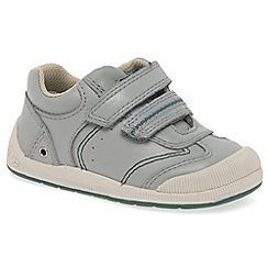 Startrite - Boys' grey leather 'Tough Bug' first shoes
