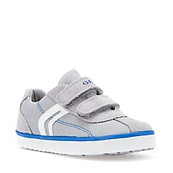 Geox - Boys' grey 'Baby Kilwi' infant shoes