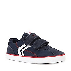Geox - Boys' navy suede 'Junior Kilwi' shoes