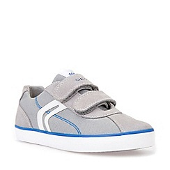 Geox - Boys' grey suede 'Junior Kilwi' shoes