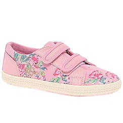 Startrite - Girls' pink 'Edith' canvas shoes