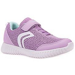 Geox - Lilac 'Waviness' girls trainers