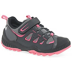 Startrite - Grey 'Charge' girls infant trainers