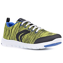 Geox - Boys' lime 'Xunday Lace' trainers