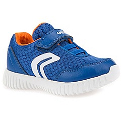 Geox - Boys' royal 'Baby Waviness' infant trainers