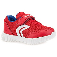 Geox - Boys' red 'Baby Waviness' infant trainers