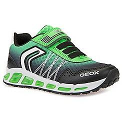 Geox - Boys' black 'Junior Shuttle' trainers