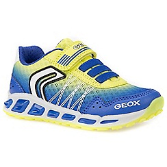 Geox - Boys' blue 'Junior Shuttle' trainers