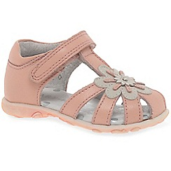 Startrite - Girls' light pink leather 'Primrose' first sandals