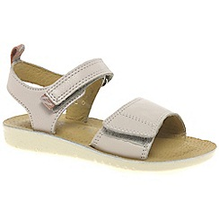 Startrite - Girls' blue leather 'Buzz' classic sandals