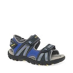 Geox - Boys navy 'Strada Junior' sandals