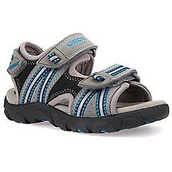 Geox - Boys grey 'Strada Junior' sandals