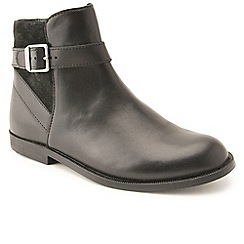 Start-rite - Black leather/suede 'Imogen' ankle boots