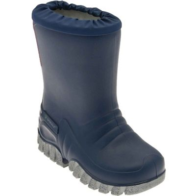 Start-rite - Navy 'Baby Mudbuster' wellington boots