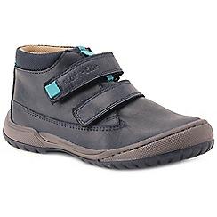 Start-rite - Boys' navy nubuck 'Flexy Smart Pre' infant ankle boots