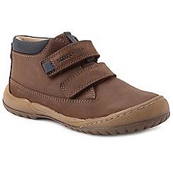Start-rite - Boys' brown nubuck 'Flexy Smart Pri' ankle boots