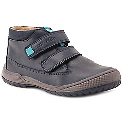 Start-rite - Boys' navy nubuck 'Flexy Smart Pri' ankle boots
