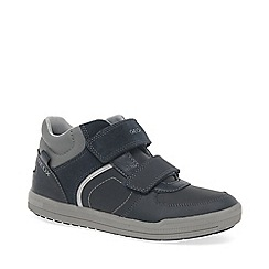 Geox - Navy leather 'Jr Arzach' boys boots