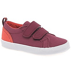Startrite - Boys' red canvas 'Roam Junior' shoes